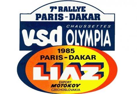 dakar 1985 logo