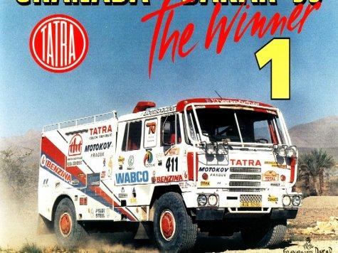 dakar 1995 - tatra 815 has
