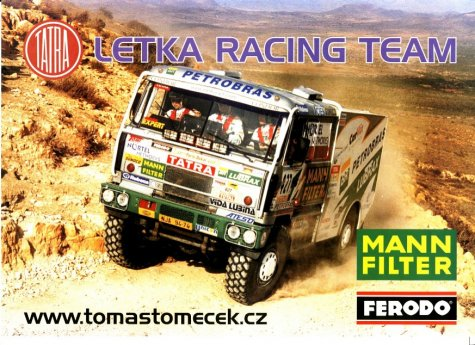 dakar 2001 - tatra 815 letka racing team