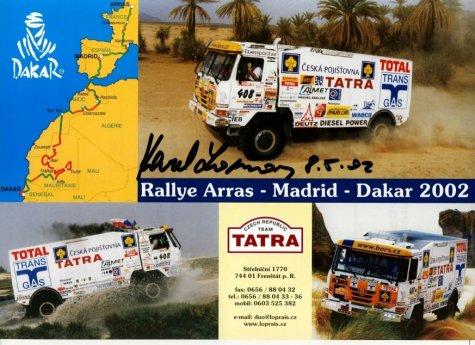 dakar 2002 - tatra