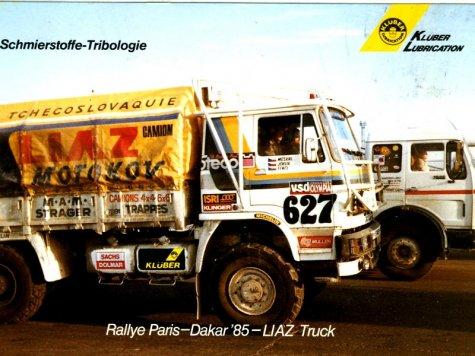dakar 1985 liaz 627