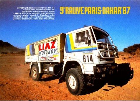 dakar 1987