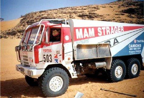 dakar 1993 - tatra 815 6x6