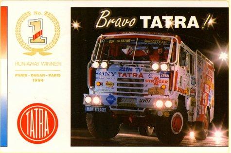 dakar 1994 - tatra has