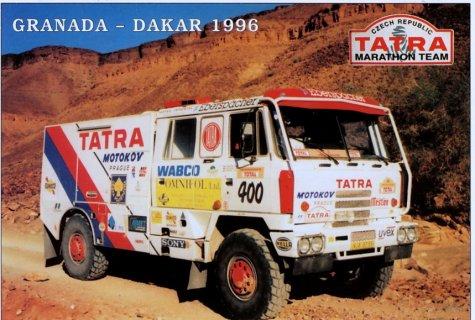 dakar 1996 - tatra 815 has