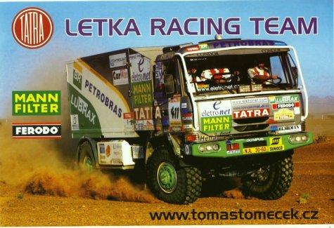 dakar 2002 letka racing team