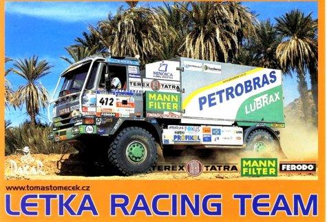 dakar 2004 - tatra - letka racing team